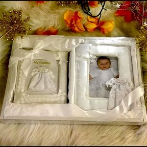 Baby Christian Picture Frame & Photo Album